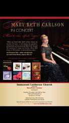 Mary Beth Carlson Concert